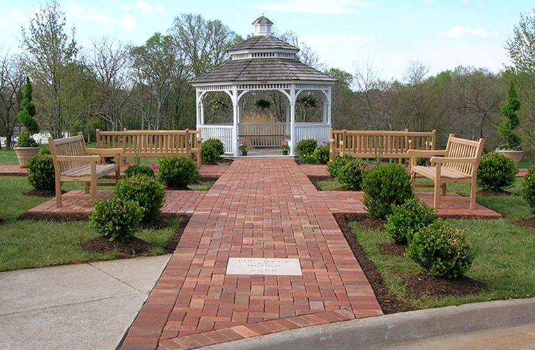 EMC memorial garden and walk of honor